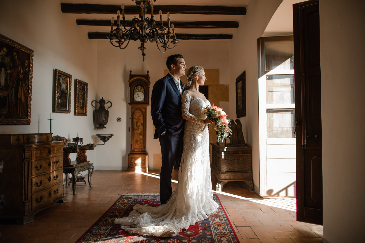 wedding photographer castillo tamarit