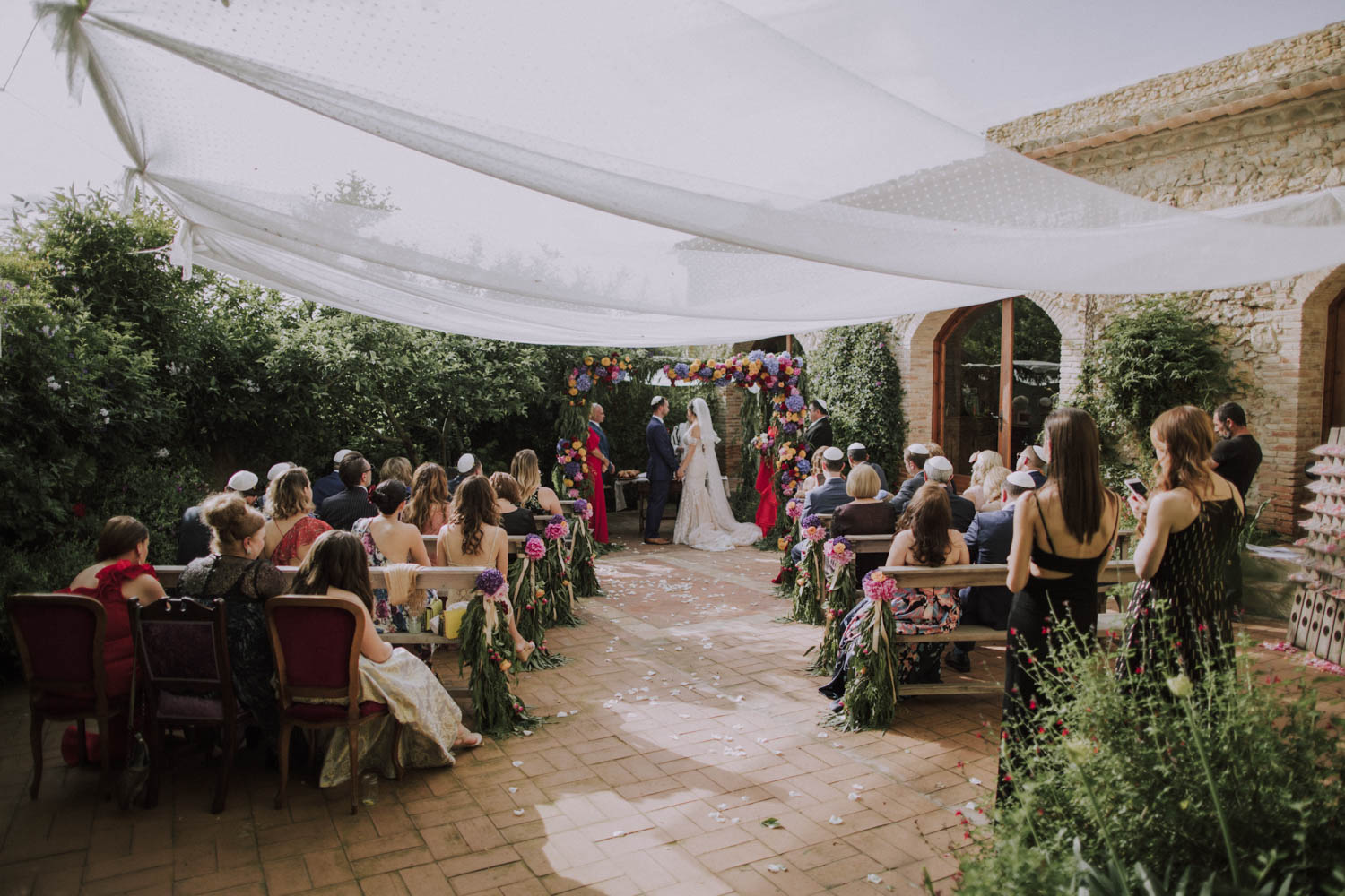 wedding ceremony at casa felix