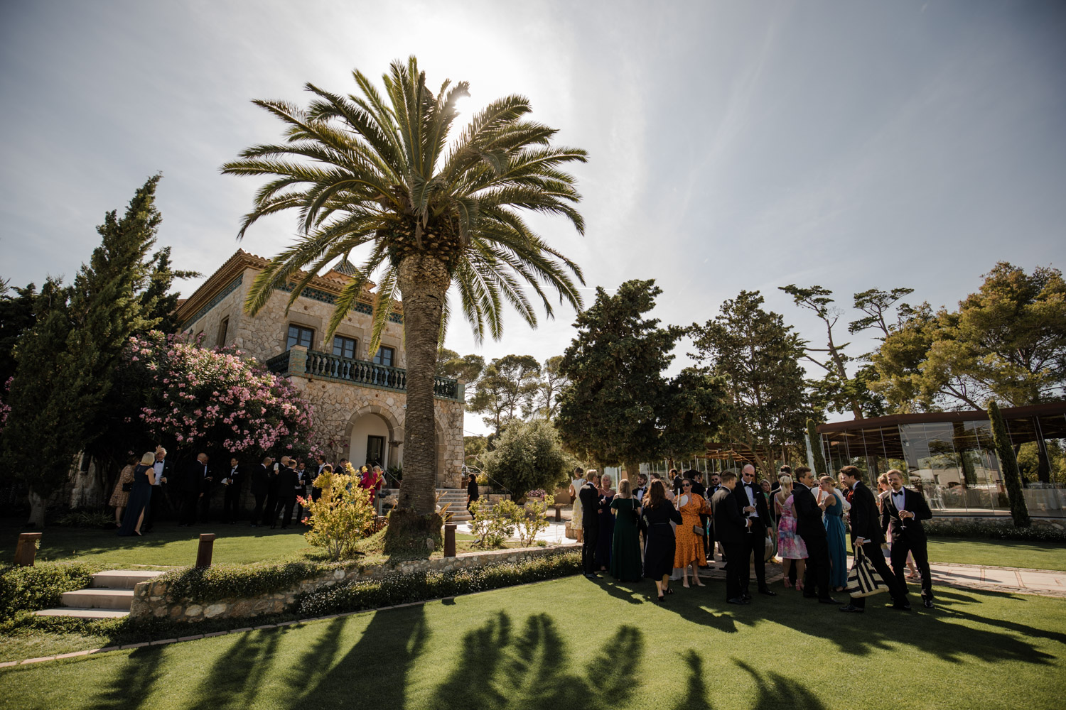 wedding at xalet del nin