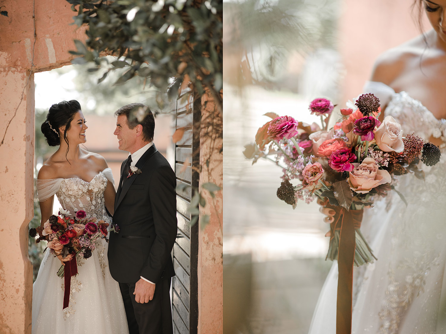 bouquet wedding barcelona